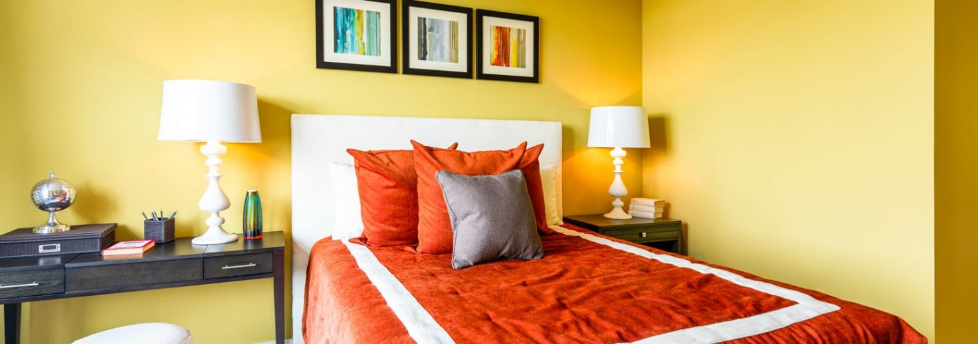 The Avant at Reston Town Center : Bedroom