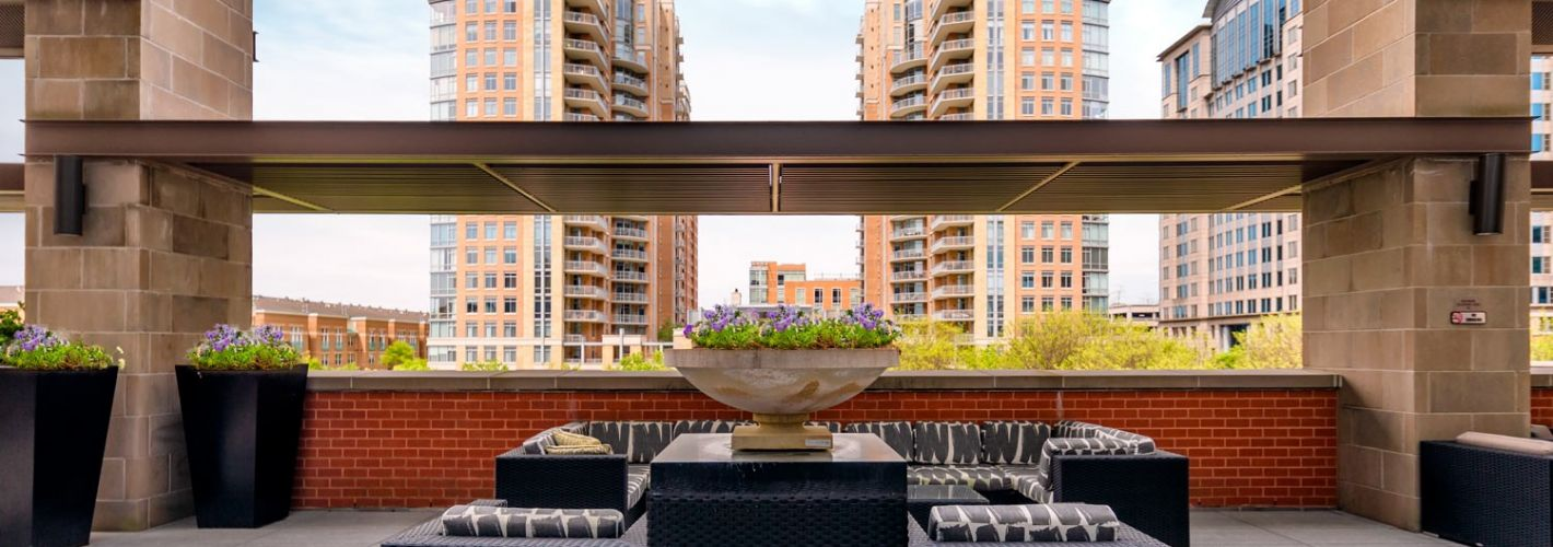 The Avant at Reston Town Center : Terrace View