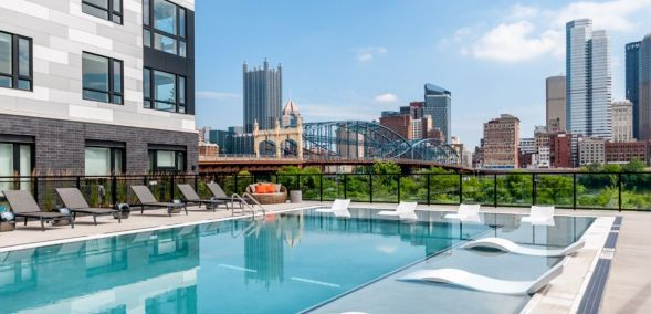 Featured amenity at Glasshouse Pittsburgh