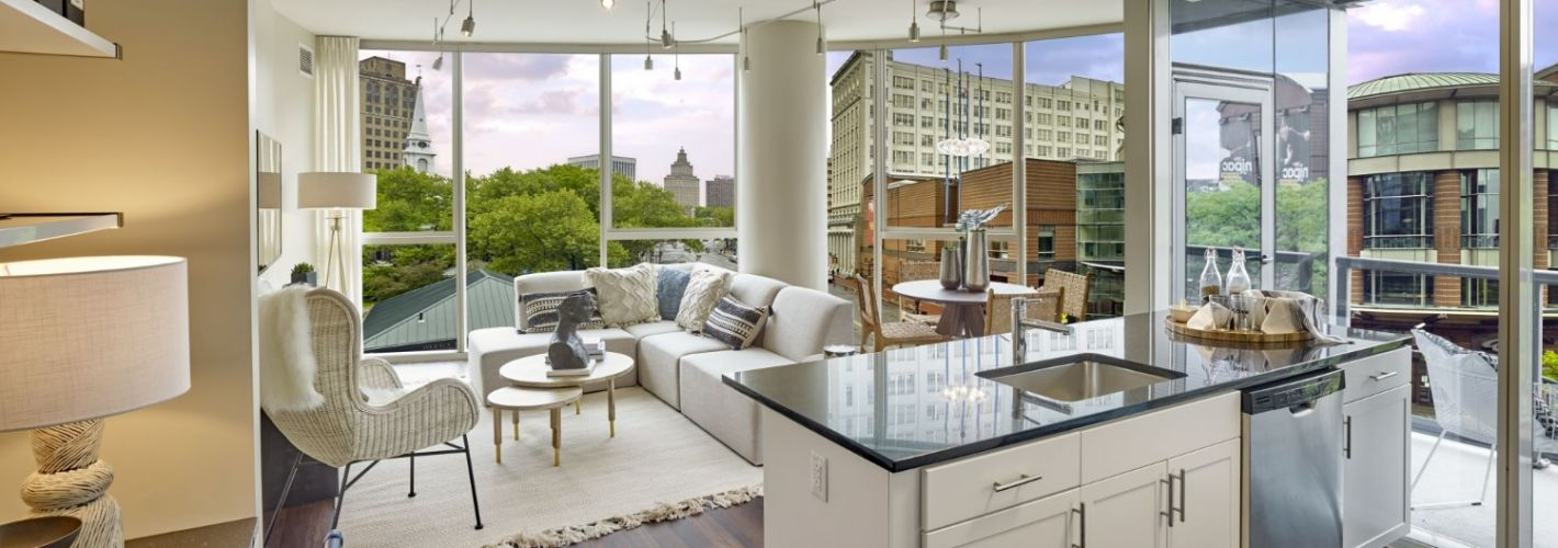 One Theater Square : Kitchen Island