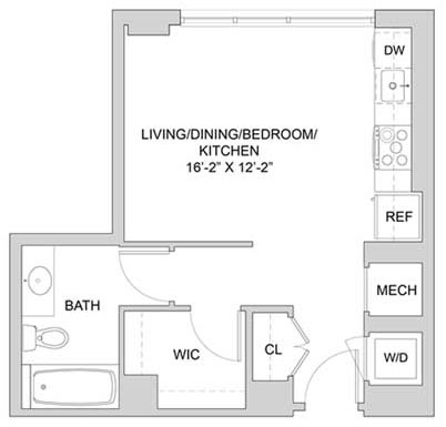 View The Modern at Art Place Apartment Floor Plans - Studios ...