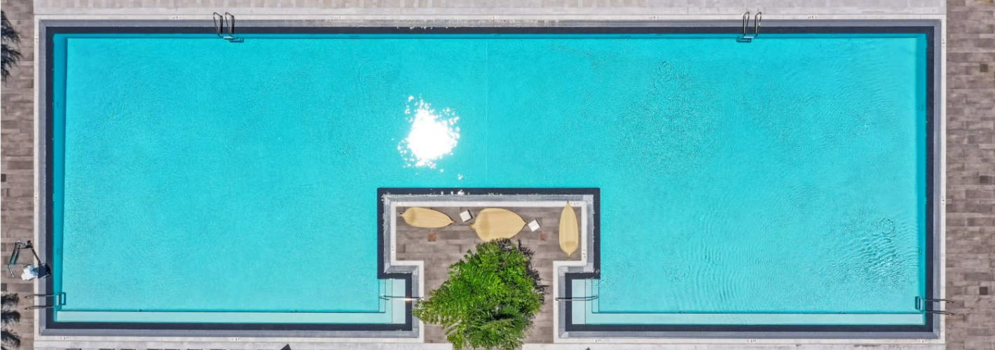 Caoba : Pool Aerial