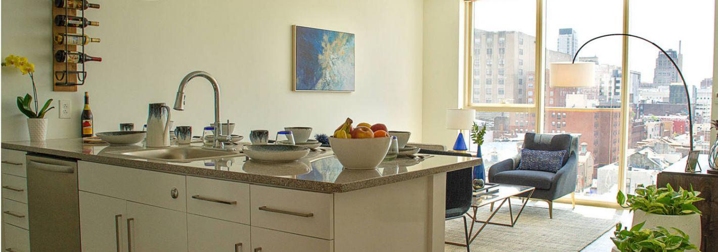 Crane Chinatown : Kitchen Living Room 2