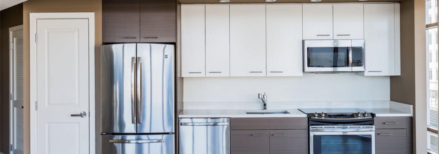 The View Ballston : Model Kitchen 2