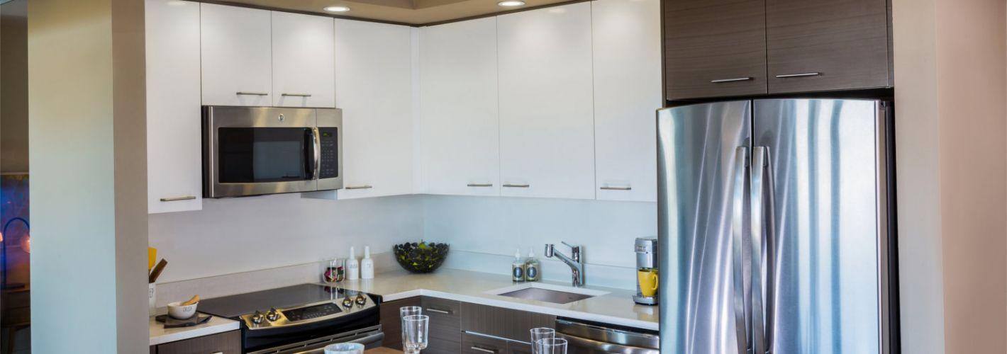 The View Ballston : Model Kitchen