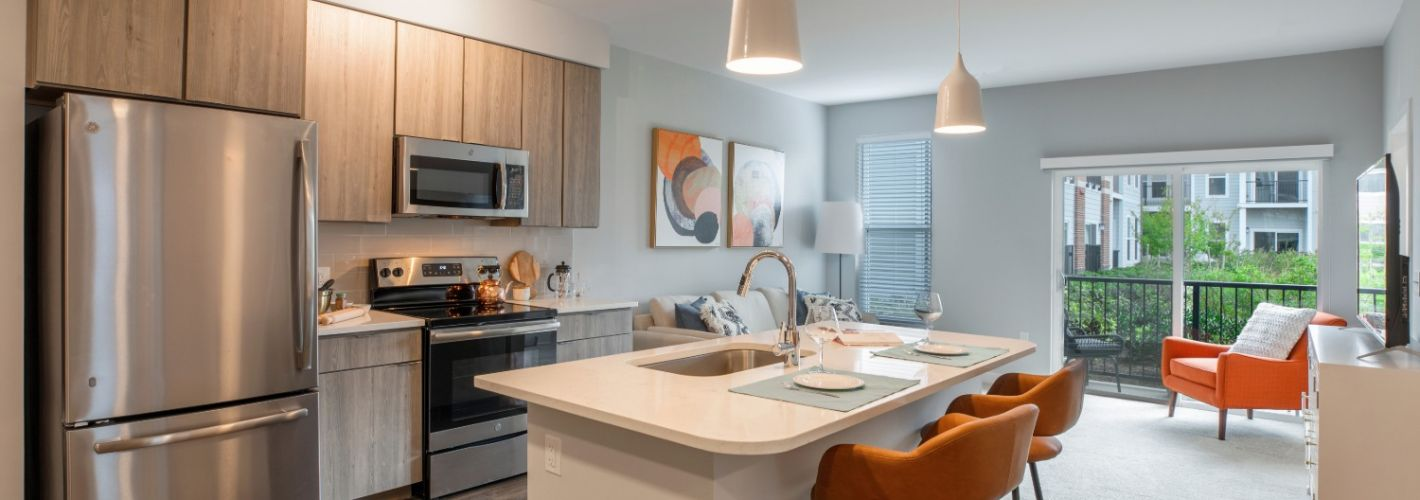 Monarch : Two Bedroom Kitchen