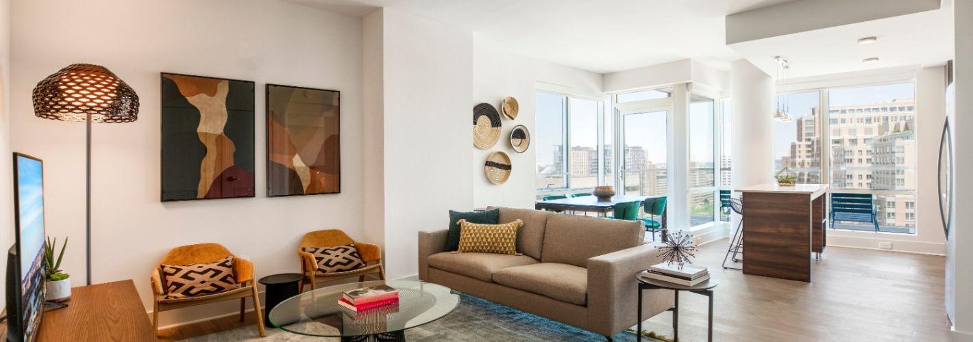 The Witmer : Living Room