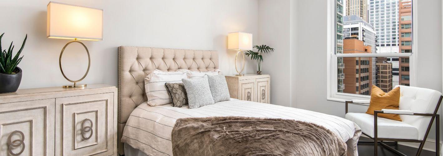 850 Lake Shore Drive : Bedroom