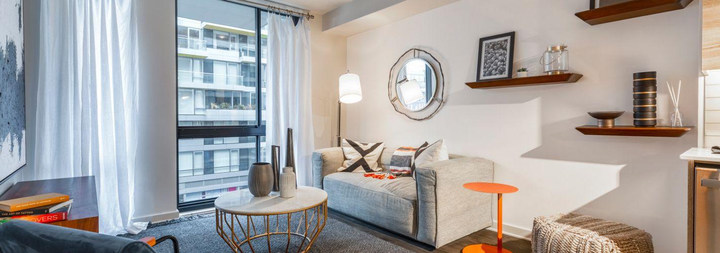 The Kelvin : Living Room