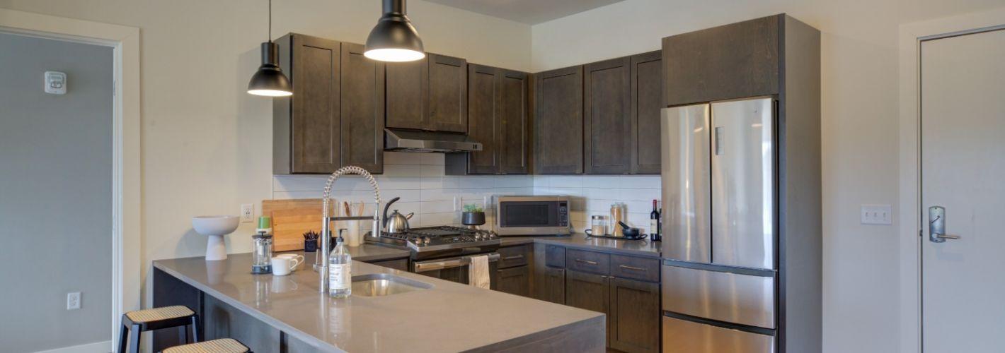 The Audubon New Haven : Kitchen