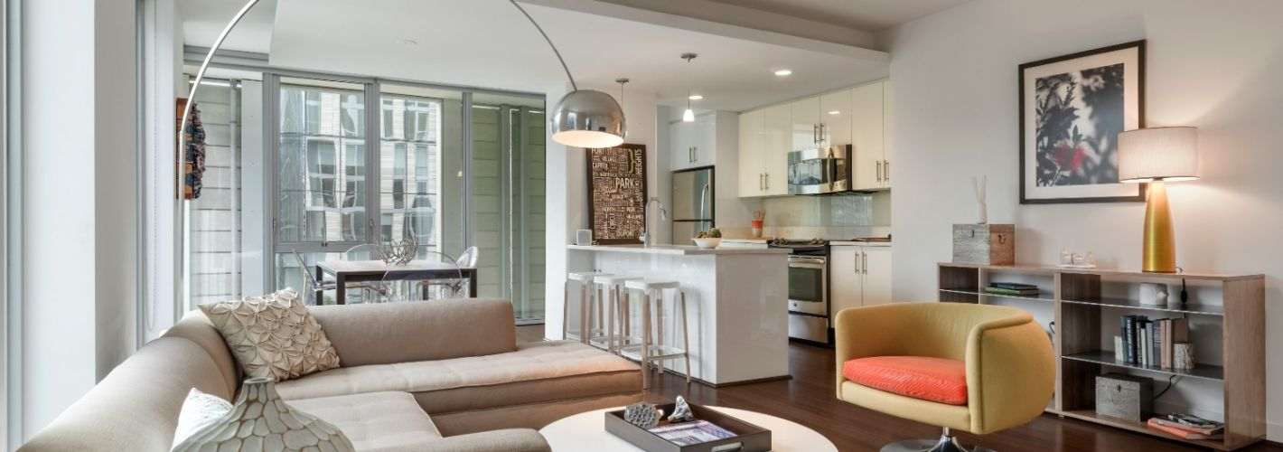 The Apartments at CityCenter : Living Room