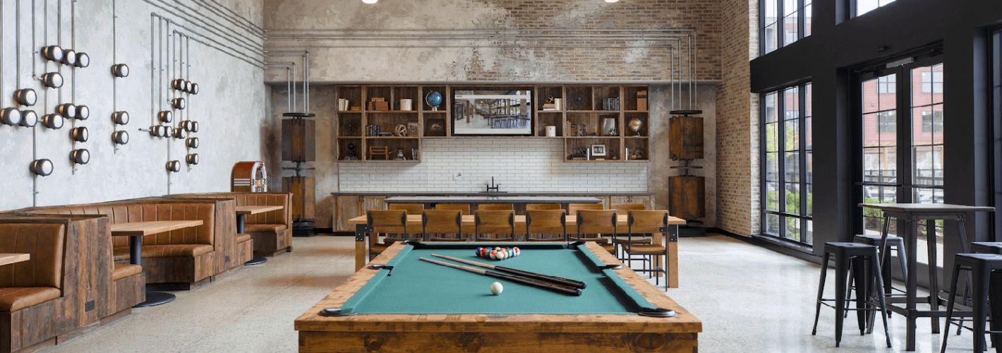 Ashbridge Exton : Billiards Room