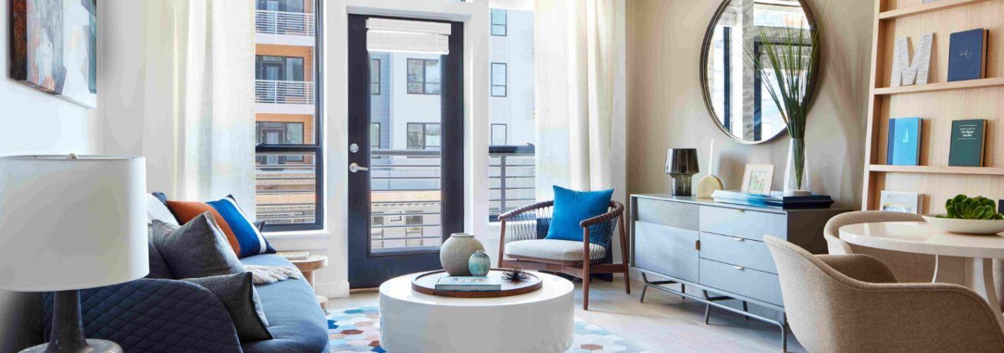 Meriel Marina Bay : Living Room