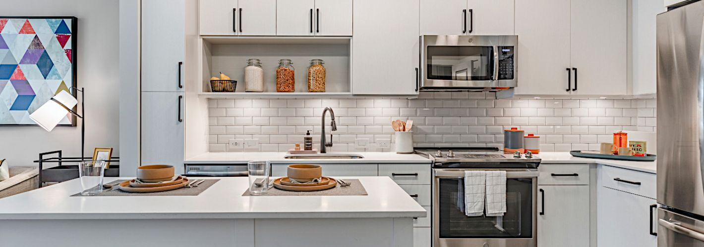 Coda at Bryant St : Located in Edgewood, NE, Coda features warm, modern apartments
