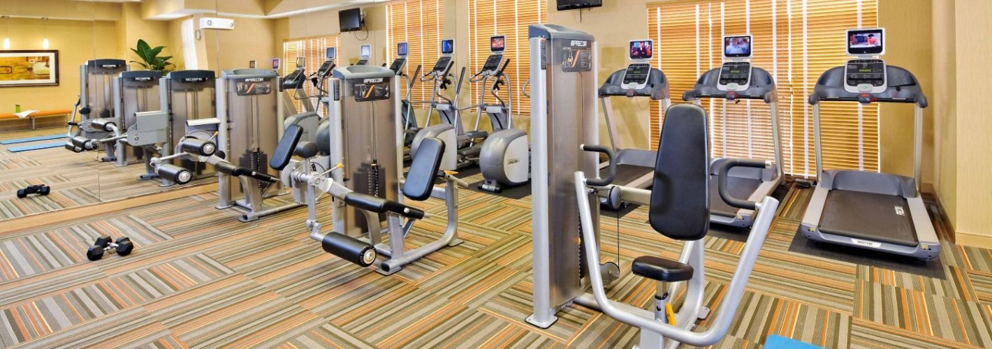 Rhode Island Row : Fitness Center