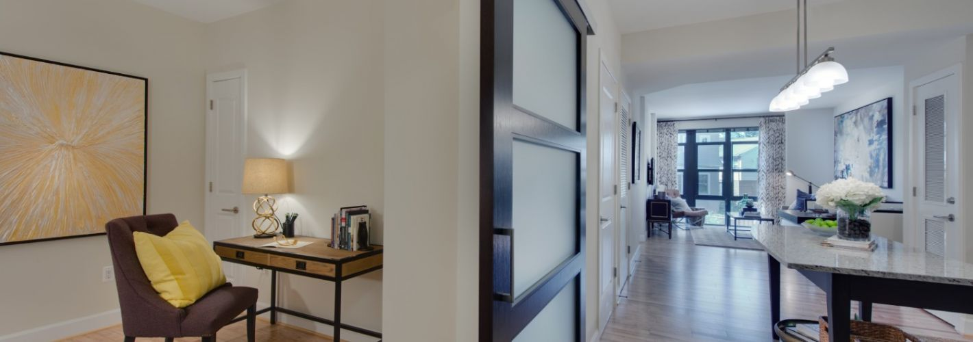 Flats at Bethesda Avenue : Our den spaces offer flexible home office, hobby or guest spaces
