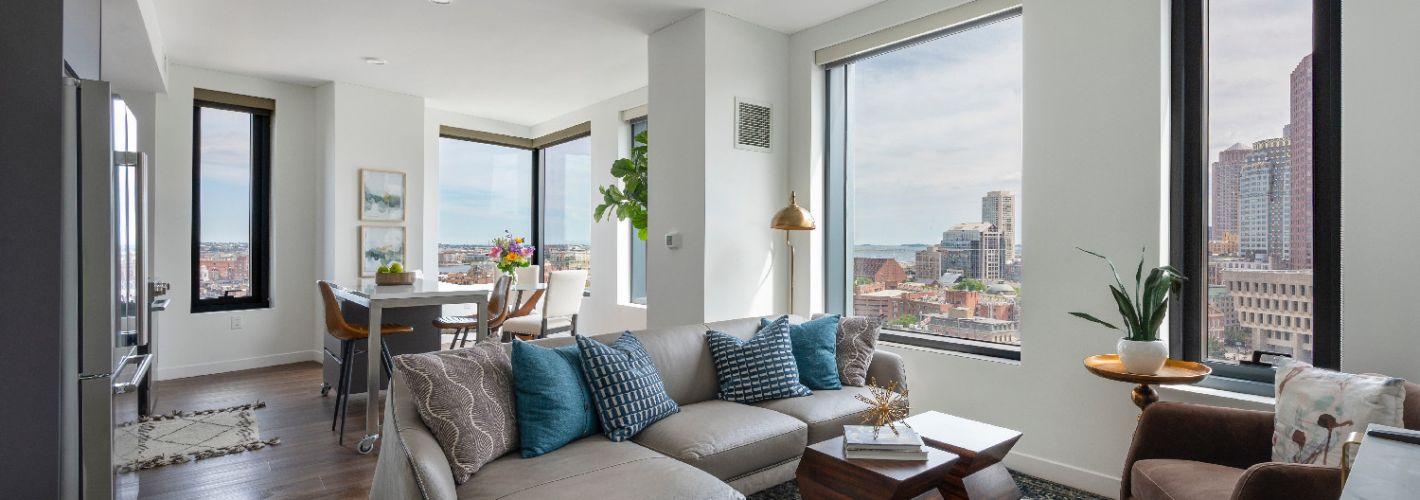 The Sudbury : Internal Living Room Views