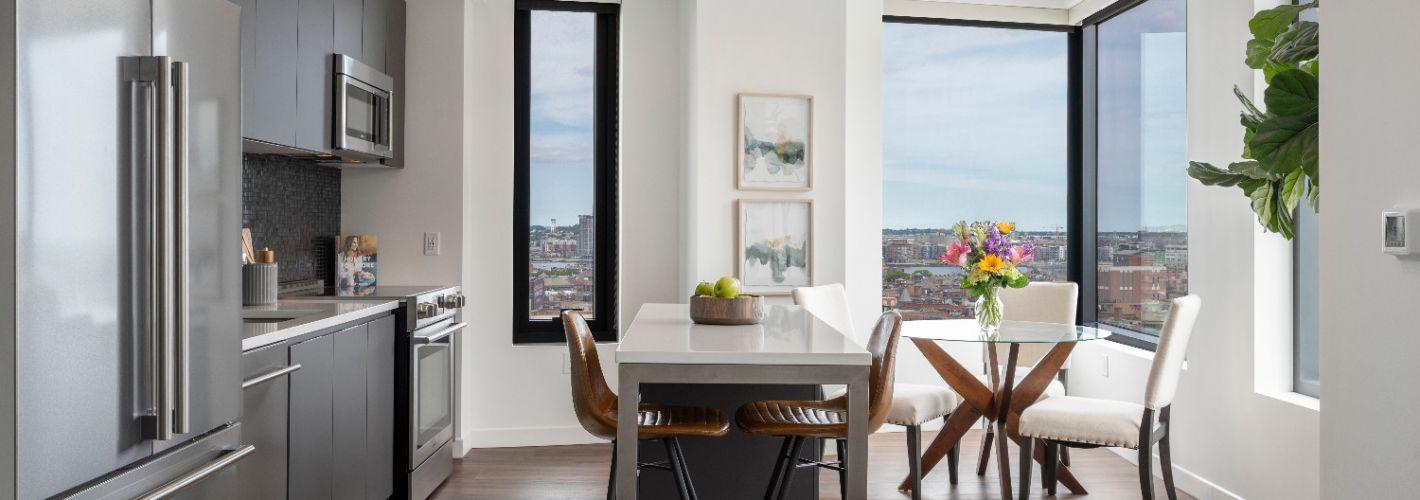 The Sudbury : Internal Living to Kitchen