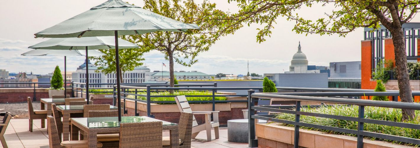 Senate Square : Enjoy the great views that our rooftop offers