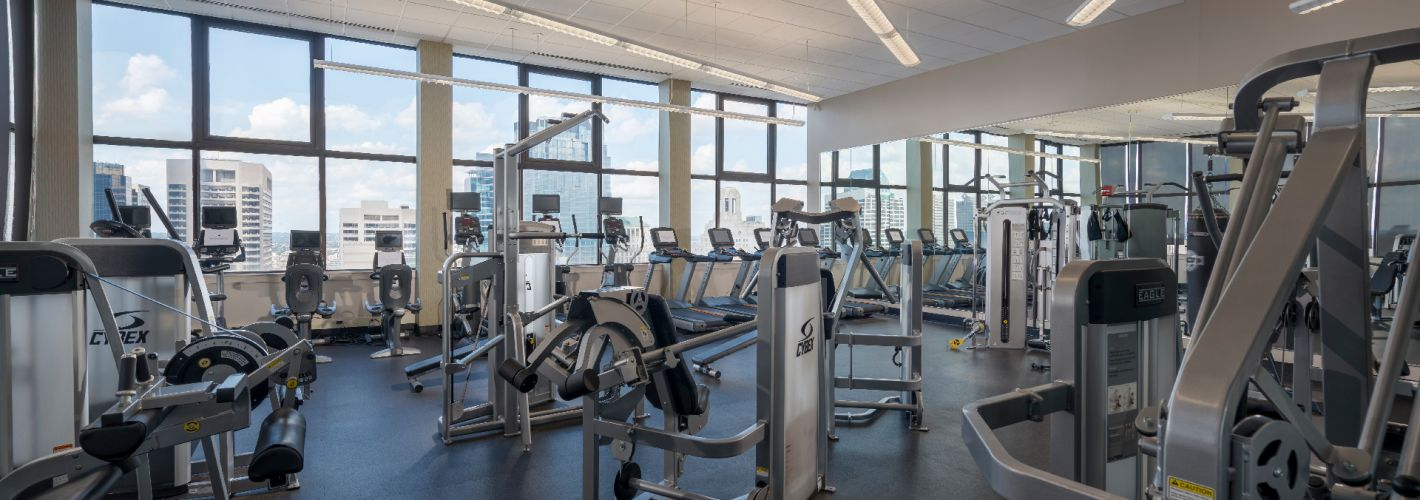 1500 Locust : Be healthy with our fitness and wellness center.