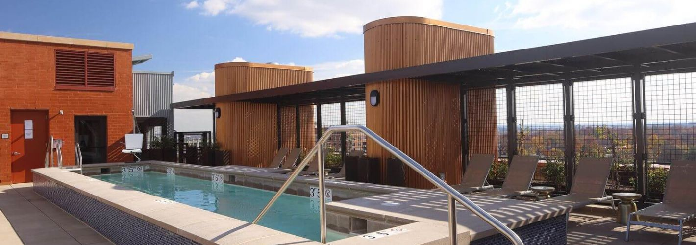 The Beacon Clarendon : Rooftop Pool