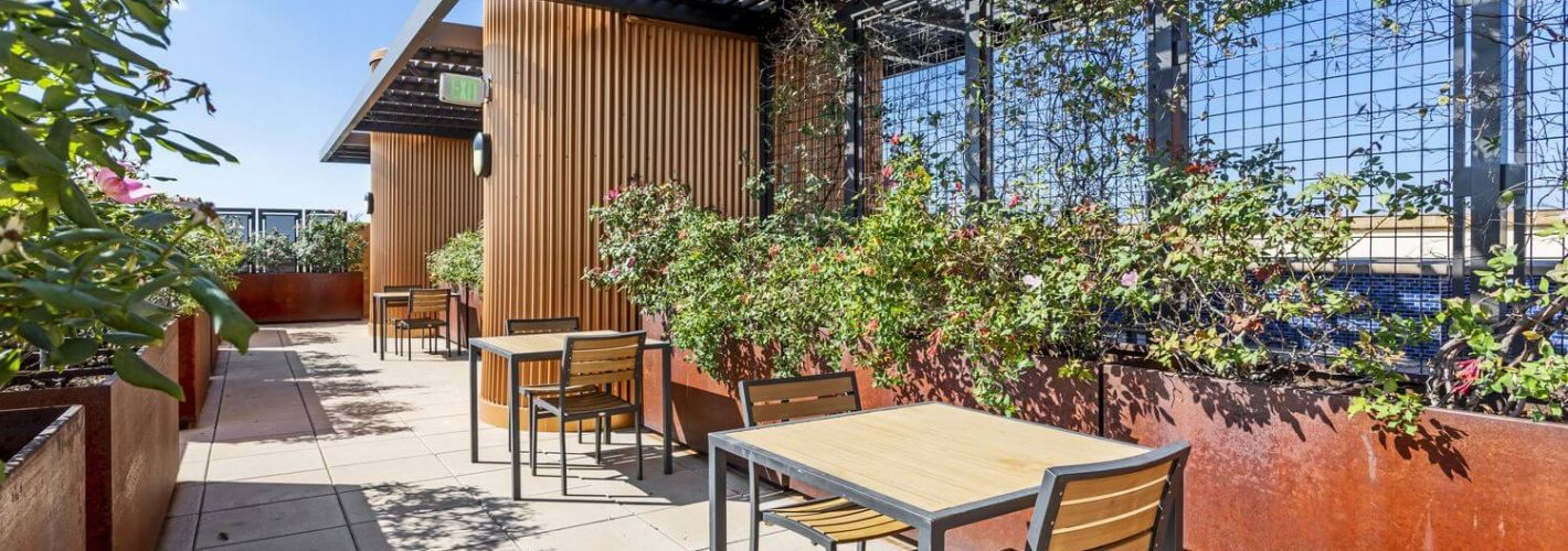The Beacon Clarendon : Rooftop Seating