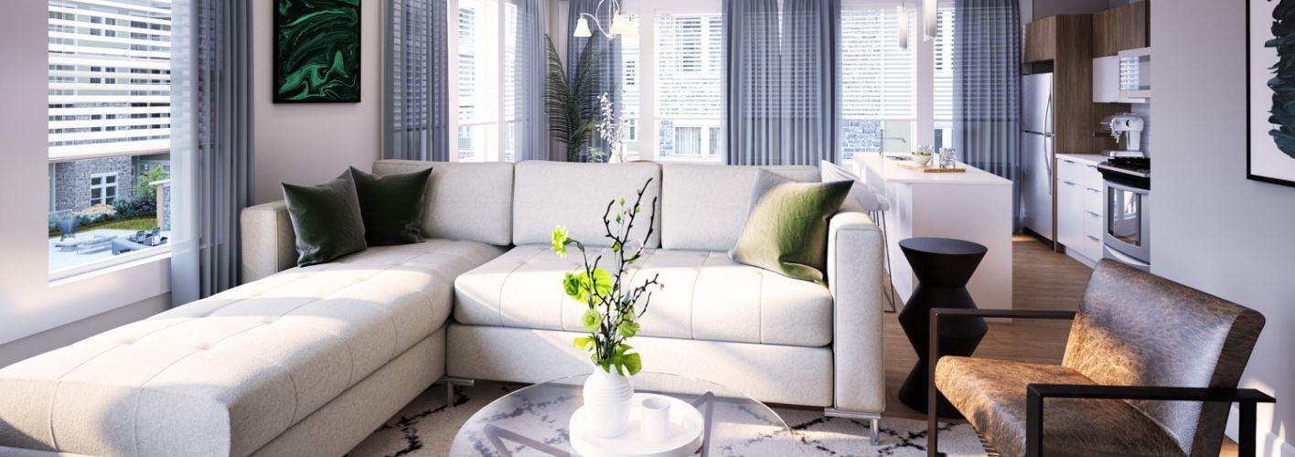 Woodbine : Living Room