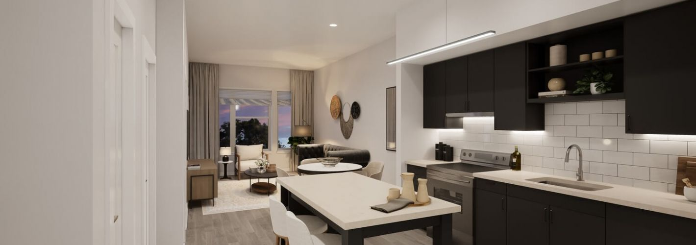 Faraday Park : Smart layouts help maximize the living space in every unit.