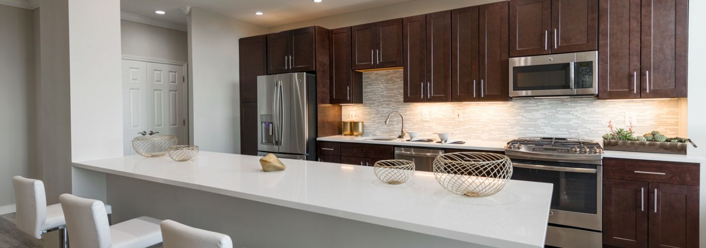 Instrata Pentagon City : Kitchen Penthouse