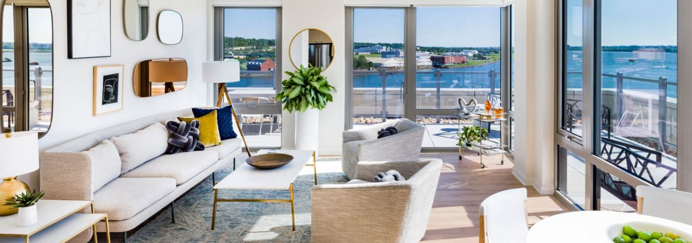 RiverPoint : Living Room