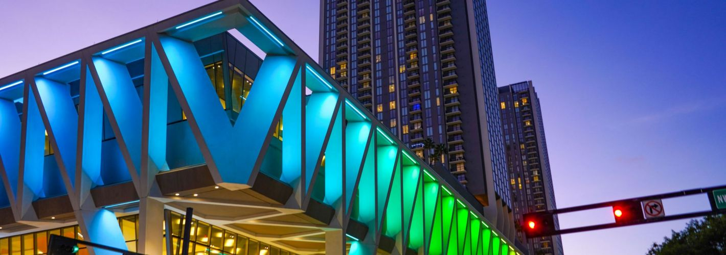 ParkLine Miami : Exterior Building Lighting