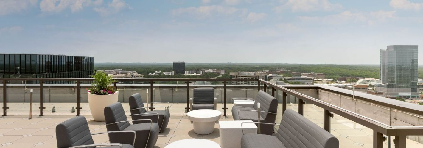 Signature at Reston Town Center : You could wake up every morning to these views
